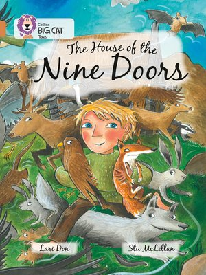 cover image of The House of the Nine Doors