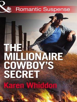 cover image of The Millionaire Cowboy's Secret