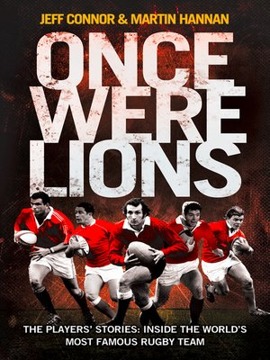 cover image of Once Were Lions