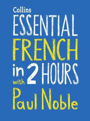 cover image of Essential French in Two Hours