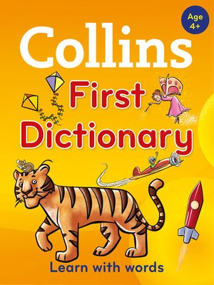 cover image of Collins First Dictionary