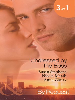 cover image of Undressed by the Boss