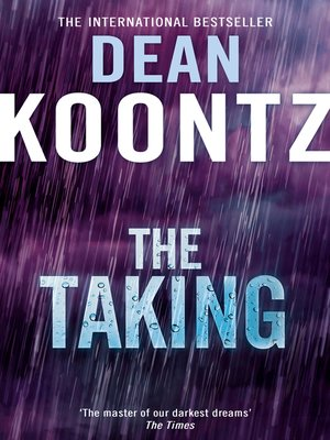 dean koontz the taking audiobook
