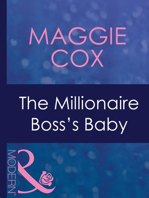 cover image of The Millionaire Boss's Baby