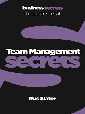 cover image of Team Management