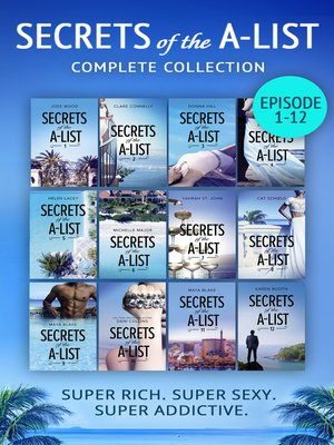 cover image of Secrets of the A-List, Complete Collection, Episodes 1-12