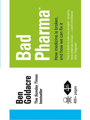 cover image of Bad Pharma