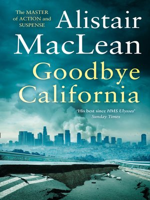 cover image of Goodbye California