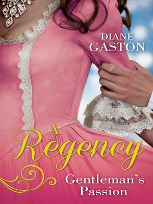 cover image of A Regency Gentleman's Passion