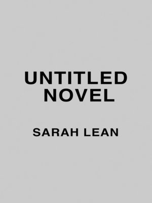 cover image of Untitled Sarah Lean