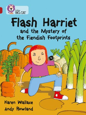 cover image of Flash Harriet and the Mystery of the Fiendish Footprints