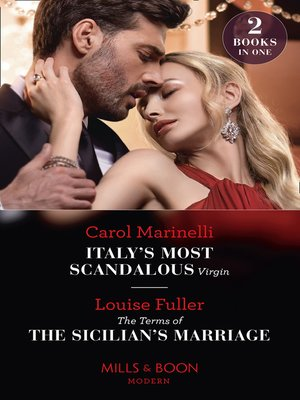 cover image of Italy's Most Scandalous Virgin / the Terms of the Sicilian's Marriage