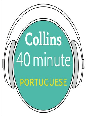 cover image of Portuguese in 40 Minutes