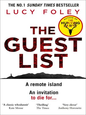 cover image of The Guest List