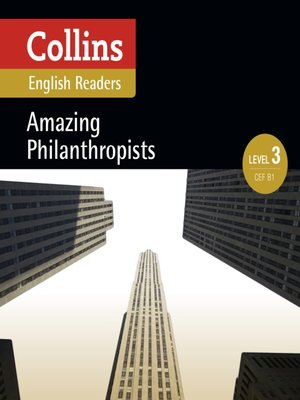 cover image of Amazing Philanthropists