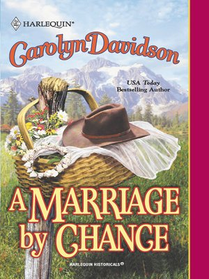 cover image of A Marriage by Chance