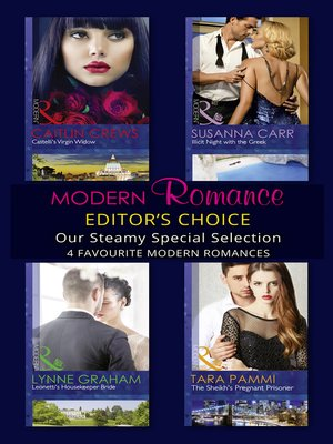 cover image of Modern Romance February 2016 Editor's Choice