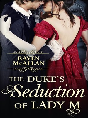 cover image of The Duke's Seduction of Lady M