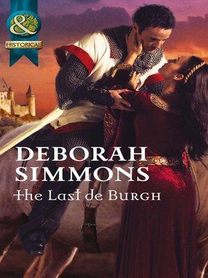 cover image of The Last de Burgh
