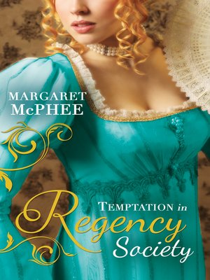 cover image of Temptation in Regency Society