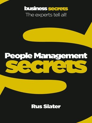 cover image of People Management