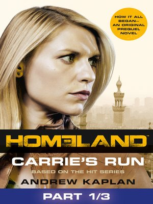 cover image of Carrie's Run, Part 1 of 3