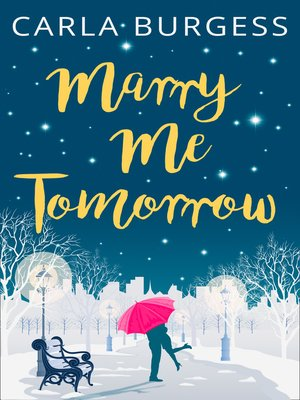 cover image of Marry Me Tomorrow