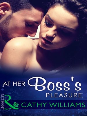 cover image of At Her Boss's Pleasure