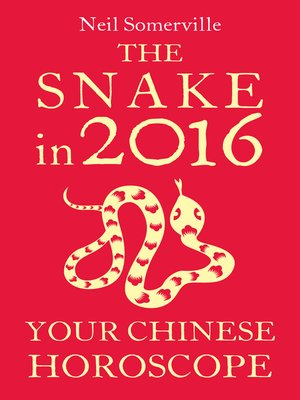 cover image of The Snake in 2016