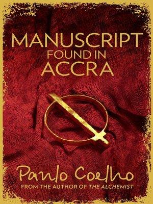Paulo Coelho Manuscript Found In Accra Pdf