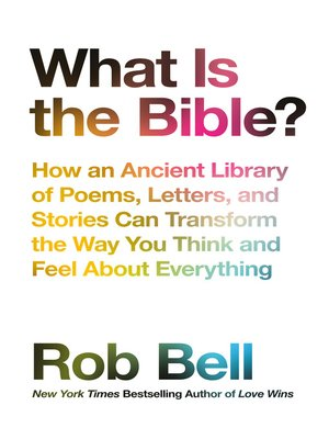 cover image of What is the Bible?
