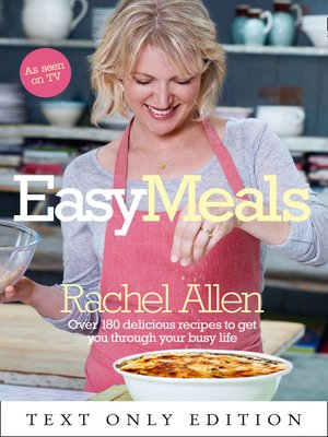 cover image of Easy Meals Text Only