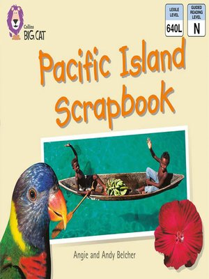 cover image of Collins Big Cat – Pacific Island Scrapbook
