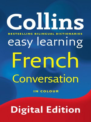 cover image of Collins Easy Learning French Conversation