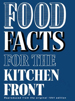 cover image of Food Facts for the Kitchen Front