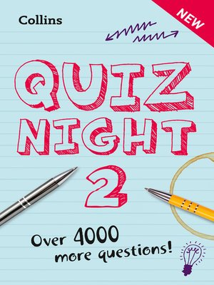 cover image of Collins Quiz Night 2