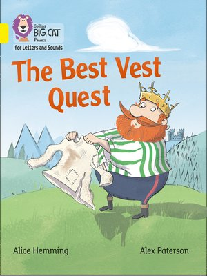 cover image of Collins Big Cat Phonics for Letters and Sounds – the Best Vest Quest