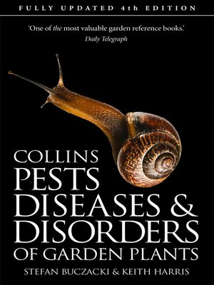 cover image of Pests, Diseases and Disorders of Garden Plants