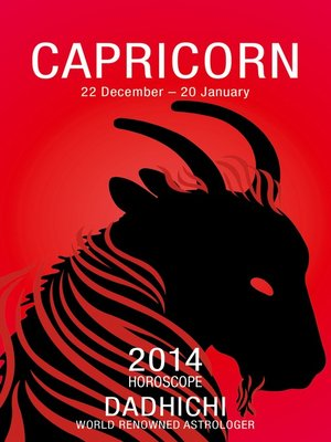 cover image of Capricorn 2014