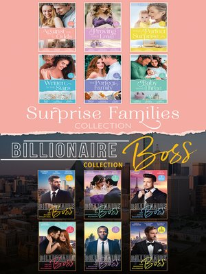 cover image of The Surprise Families and Billionaire Bosses Collection