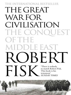 cover image of The Great War for Civilisation