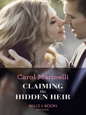 cover image of Claiming His Hidden Heir