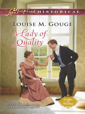 cover image of A Lady of Quality