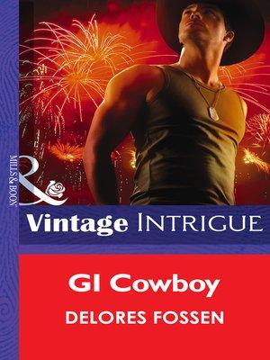 cover image of GI Cowboy