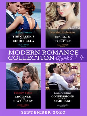 cover image of Modern Romance September 2020 Books 1-4