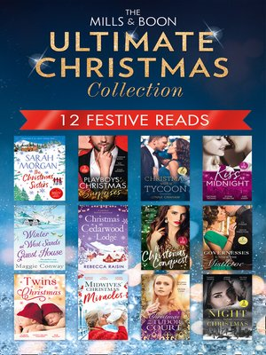 cover image of The Mills & Boon Ultimate Christmas Collection