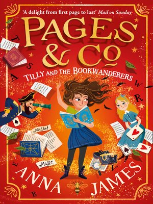 cover image of Tilly and the Bookwanderers