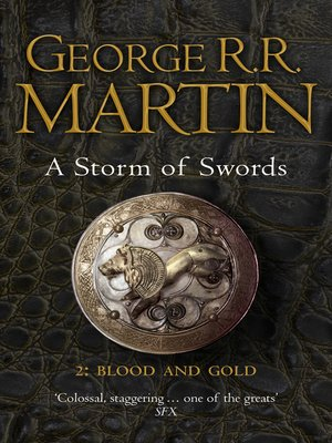 cover image of A Storm of Swords: Blood and Gold, Part 2