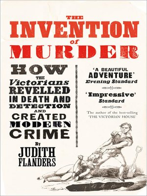 cover image of The Invention of Murder