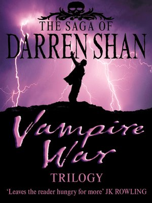 cover image of Vampire War Trilogy